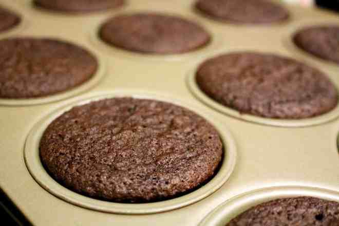 Red Wine Chocolate Cupcakes - 9