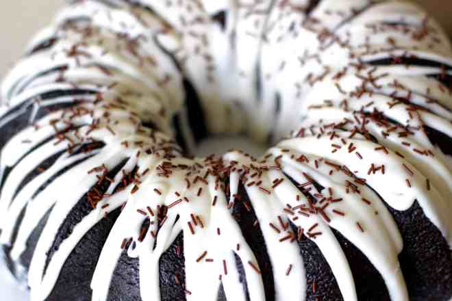 Black Cocoa Bundt Cake - 27