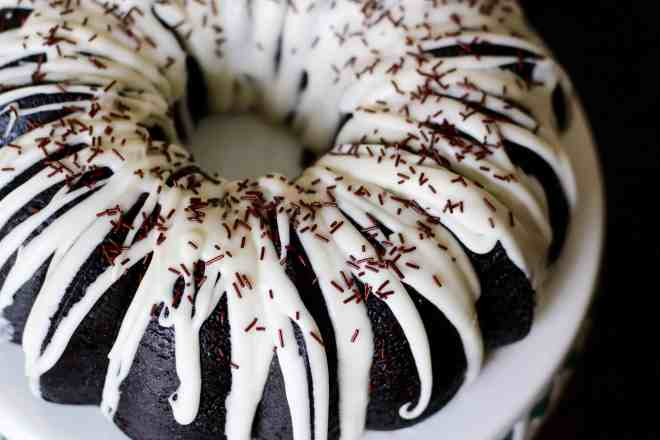 Black Cocoa Bundt Cake - 30