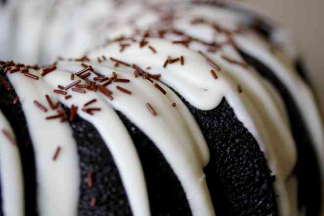 Black Cocoa Bundt Cake - 32
