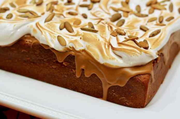 Pumpkin & Cookie Butter Sheet Cake - 32
