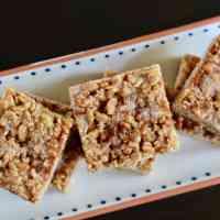 Cinnamon Cajeta Rice Crispy Treats