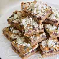 Baked Sunday Mornings: BAKED Bars... with Double Halva