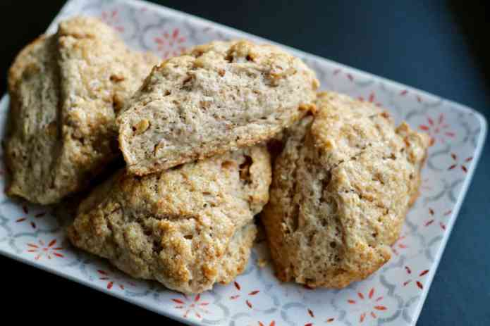 Maple Walnut Scones - 18