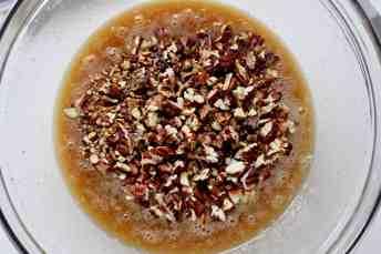 Bourbon Chocolate Pecan Pie - 10
