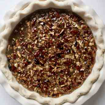 Bourbon Chocolate Pecan Pie - 14