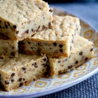 All Buttered Up: Chocolate Chip Toffee Shortbread Bars