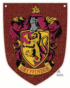 Blason Gryffondor fête d'anniversaire Harry Potter