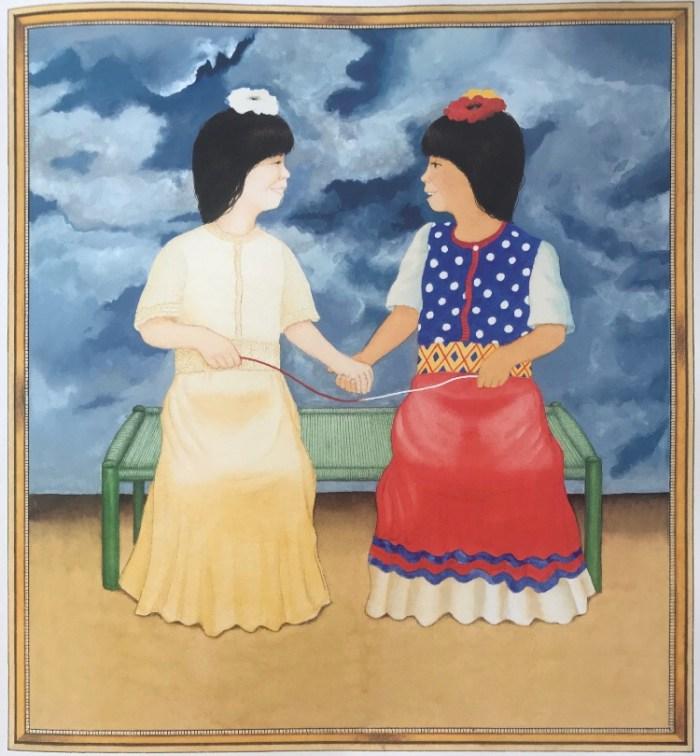 Album jeunesse Petite Frida , Anthony Browne  aux éditions Kaléidoscope