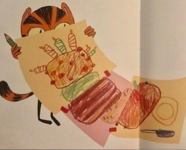 Timoto cuisine un anniversaire, écrit et illustré par Rémi Courgeon, aux éditions Nathan .