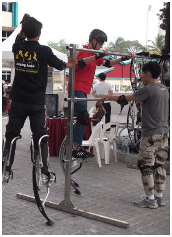 Jumping stilts