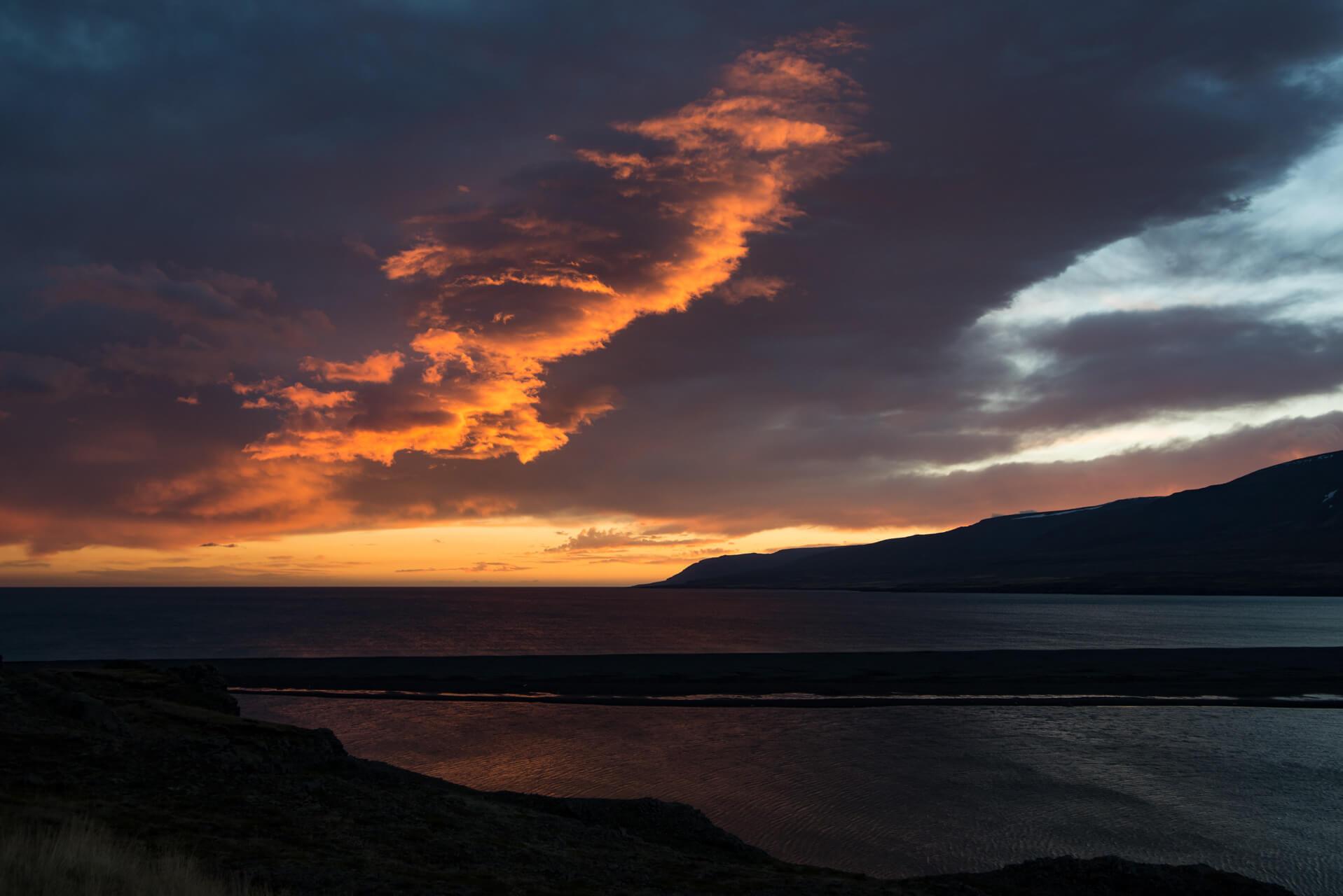 Island Oktobermorgen