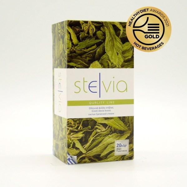 Ελληνικά φύλλα στέβια σε εμβαπτιζόμενα φακελάκια