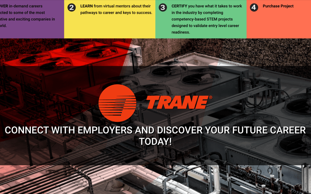 Trane selects STEM 101 to bring HVAC science alive for students!