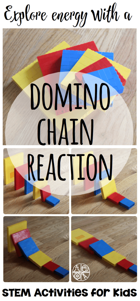 LEGO Domino Chain Reaction