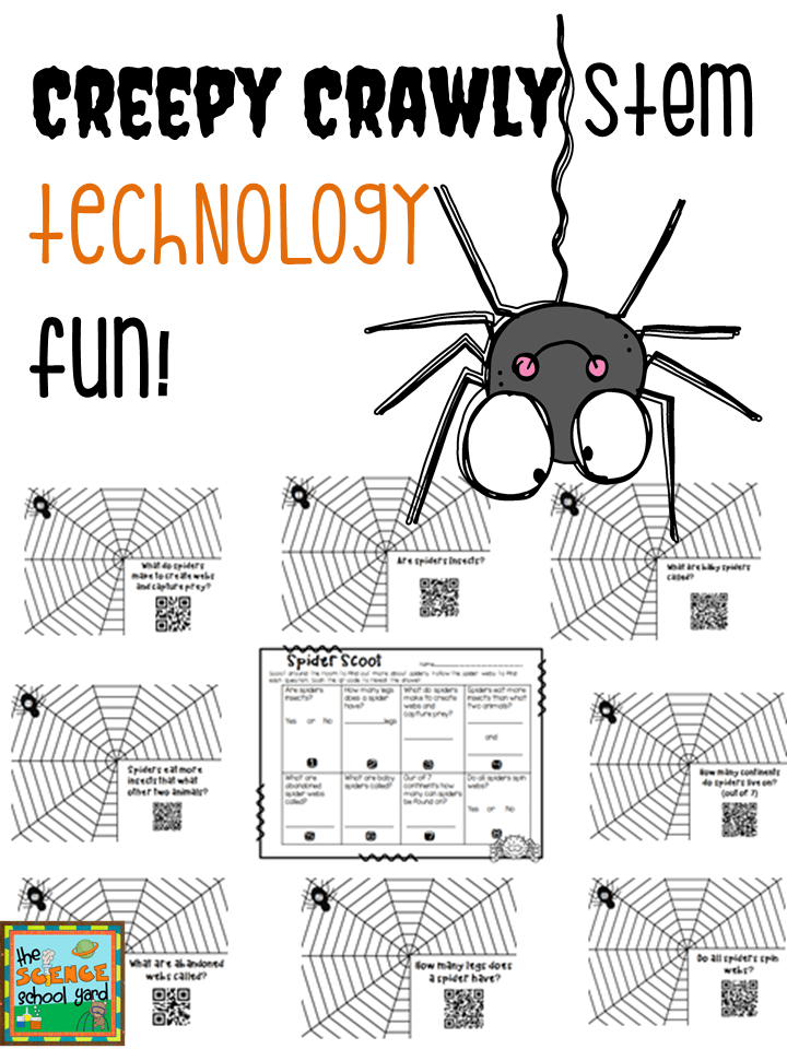 Spiders In the STEM Classroom!