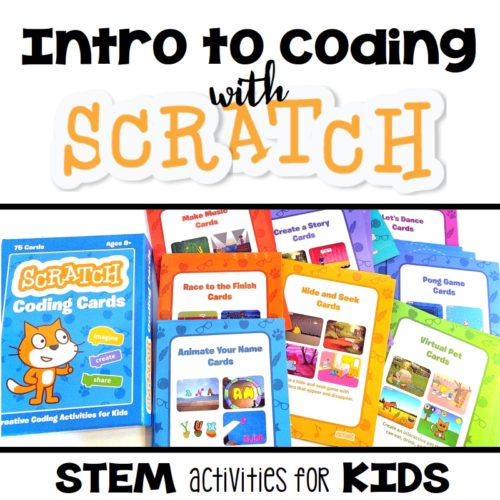 Start Programming with Scratch Coding Cards - STEM