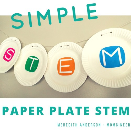 5 Easy Simple Paper Plate STEM Challenges