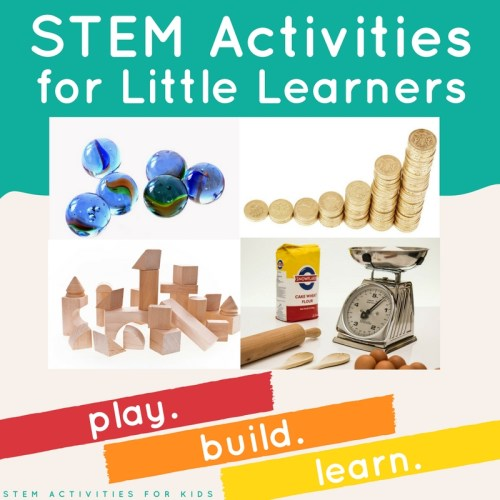 6 Simple STEM Activities for Little Learners from STEM Activities for Kids