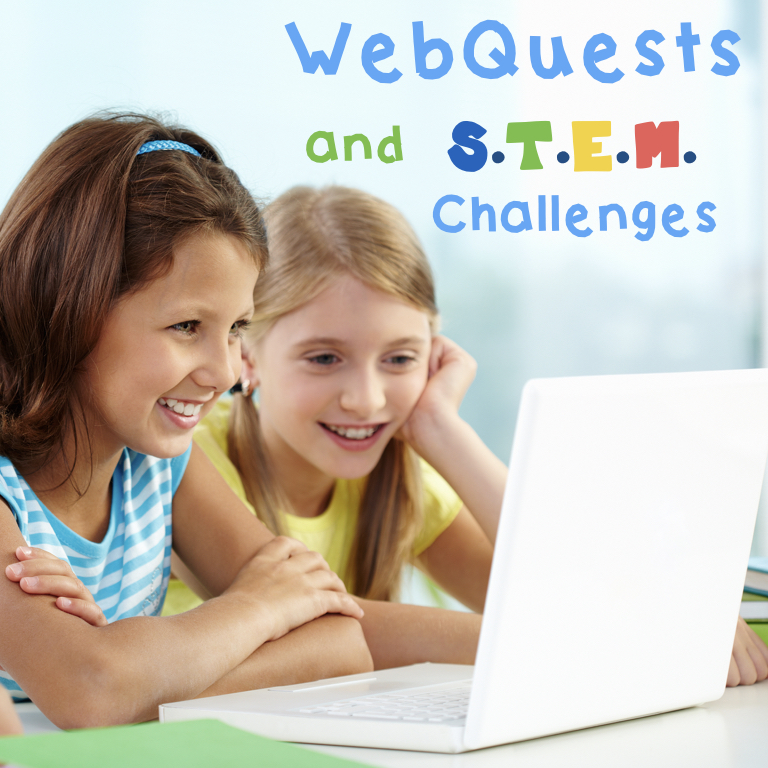 WebQuests and STEM Challenges