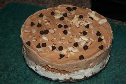 Vanilla Mocha Ice Cream Cake