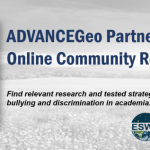 ADVANCEGeo launches new online resource center to address sexual harassment in the geosciences
