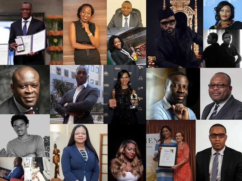 African Personalities Recognized
