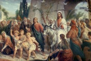 PALM SUNDAY OF THE PASSION LORD