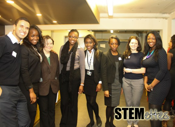 Students from the Petchey Academy London were amongst the first to arrive.