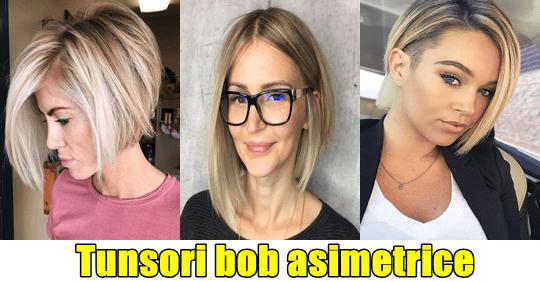 Top 27 tunsori bob scurt asimetric pentru femeile perfecte