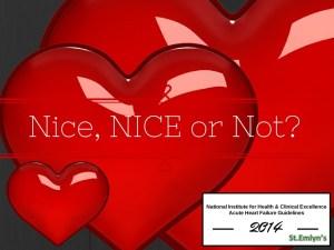 NICE AHF guidelines stemlyns
