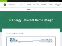 U.S. Department of Energy's Energy-Efficient Home Design