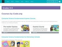 Code.org Grades K-5