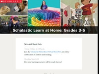 Scholastic Learn at Home Grades 3-5