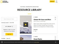 National Geographic Education Resource Library