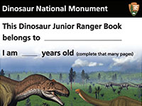 Dinosaur National Monument Junior Ranger Book (PDF)