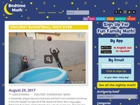 Bedtime Math's Craziest Basketball Shot Ever