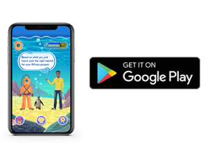Download the Animal Heroes Mobile App from the Google Play Store (coming soon)