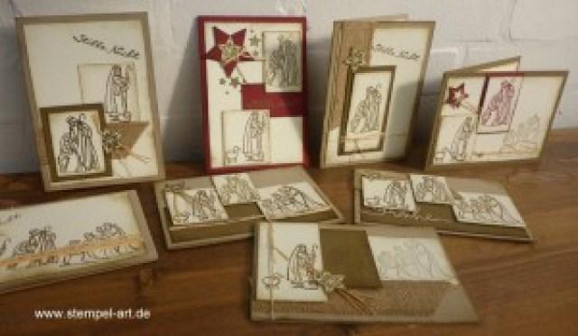 Gesegnete Weihnacht nach StempelART (5)