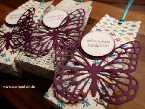 Goodies Milchtüte nach StempelART, Schmetterlinge (3)