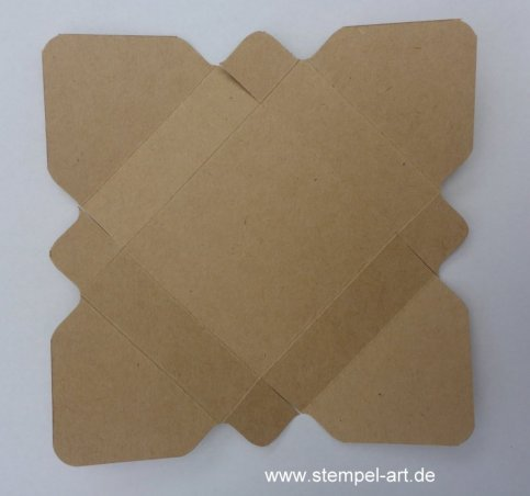 Hanuta Verpackung nach StempelART, Tutorial, bebilderte Anleitung (3)