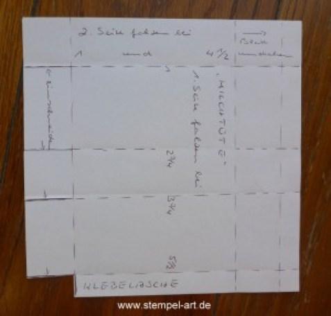 Milchtüte nach StempelART, Anleitung bebildert, Tutarial, 6x6 (3)