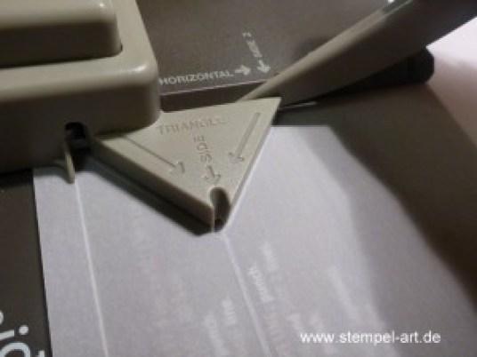 Lichttüte mit dem Stampin up Stanz und Falzbrett für Geschenktüten, bebilderte Anleitung, Tutorial (5)