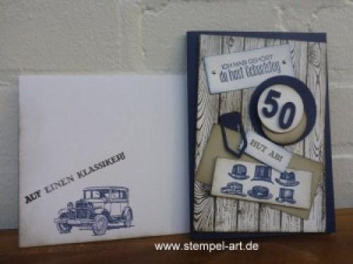 Stampin up, Für ganze Kerle, Hardwood, Männerkarte nach StempelART (4)