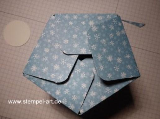 Sternbox mit dem Stampin up Stanz - und Falzbrett für Geschenktüten nach StempelART, bebilderte Anleitung, Tutorial (14)