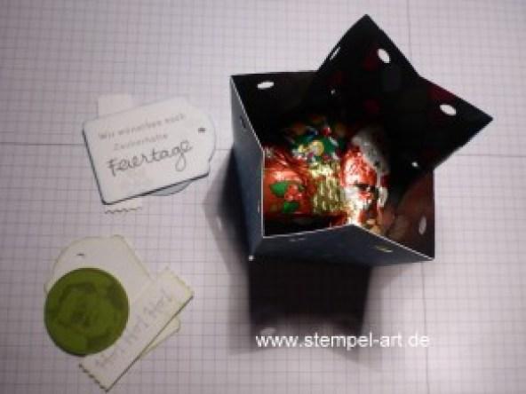 Sternbox mit dem Stampin up Stanz - und Falzbrett für Geschenktüten nach StempelART, bebilderte Anleitung, Tutorial (17)