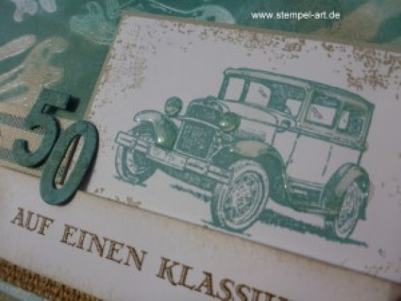 Stampin up Männerkarte nach StempelART, Für ganze Kerle,Timeless Textures, Zahlen Minis, Crystal Effects