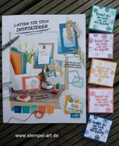 Katalogparty nach StempelART, Stampin up