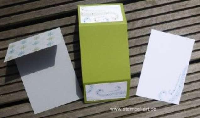 Sternenzauber nach StempelART, Stampin up, Weihnachtsstern, Double Dutch Fold Card, Tolle Kartentechnik!!!, Technikbuch, bebilderte Anleitung