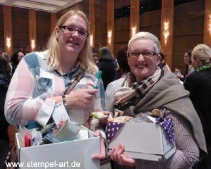 On Stage in Düsseldorf 2016 nach StempelART, Stampin up, Reisebericht